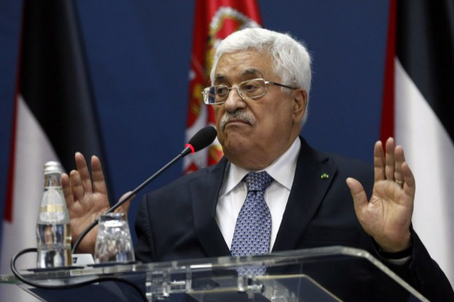 Le président palestinien Mahmoud Abbas.... (Photo Darko Vojinovic, AP)