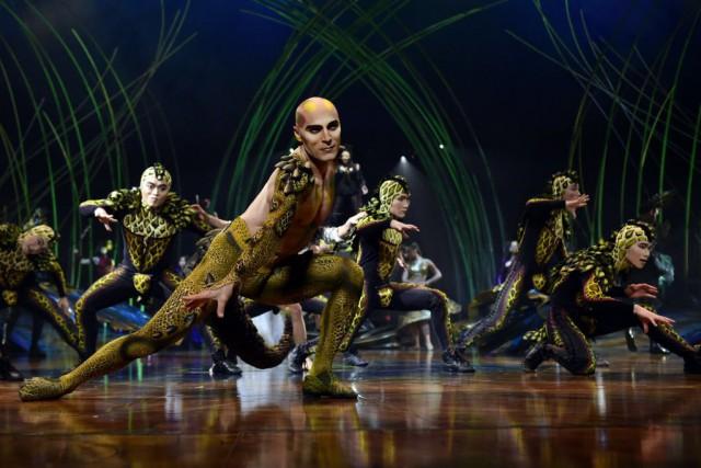 Le spectacle Amaluna du Cirque du Soleil présenté... (PHOTO JAVIER SORIANO, AFP)