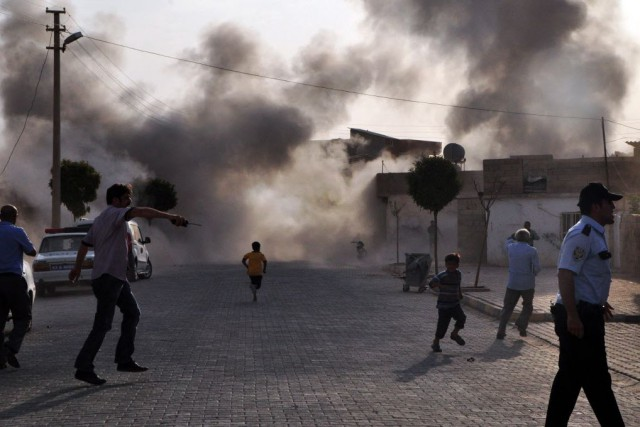 Le groupe État islamique (EI) a subi son plus sérieux revers en Syrie après la... (Photo RAUF MALTAS, ANATOLIA, archives AFP)