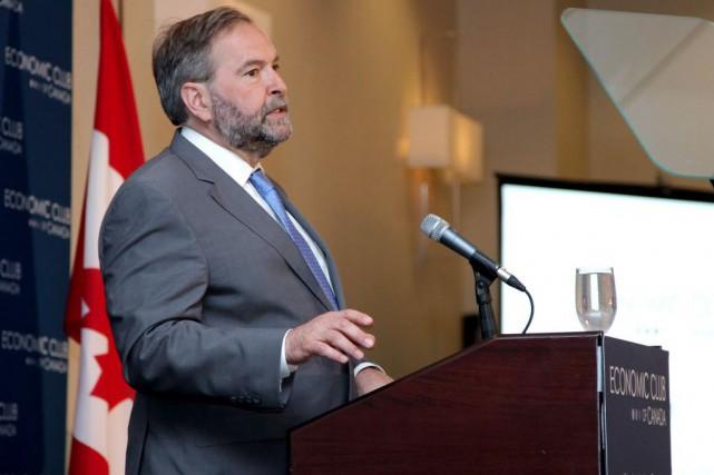 Le chef du NPD a dit qu'il ne... (Photo Colin Perkel, La Presse canadienne)