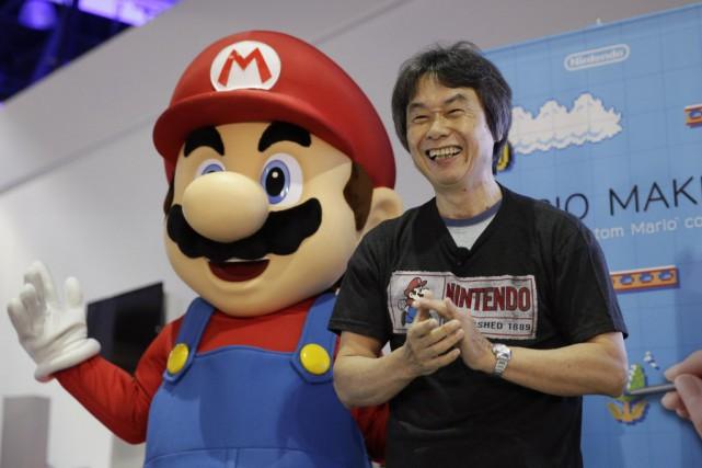 Nintendo a bâti sa clientèle autour de marques... (Photo Jae C. Hong, AP)