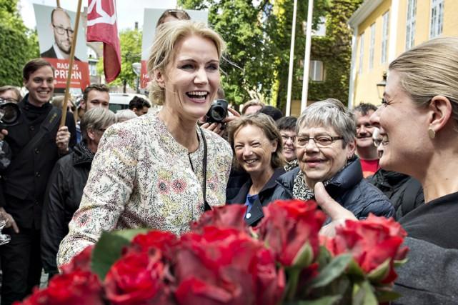 La première ministre du Danemark Helle Thorning-Schmidt.... (PHOTO REUTERS)