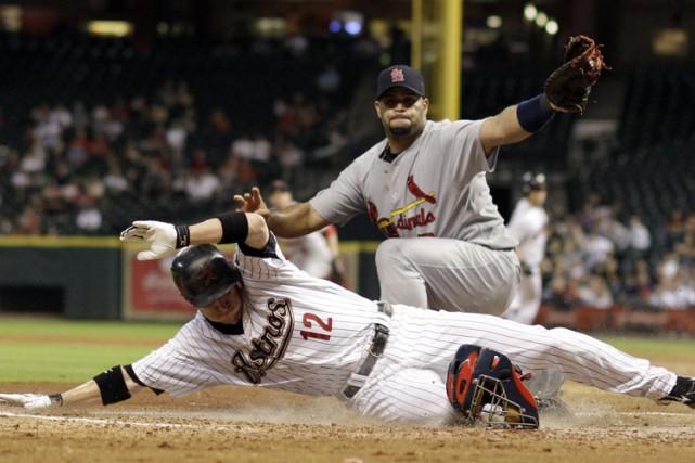 Match opposant les Astros aux Cardinals en septembre... (ARCHIVES AP)