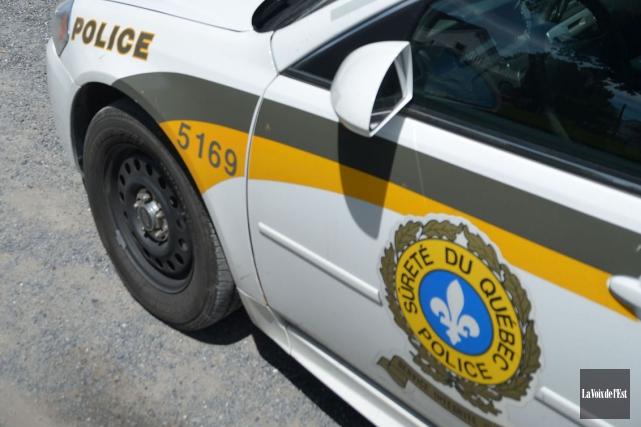 Un cadavre a été découvert par la Sûreté du Québec (SQ) dans le secteur de... (PHOTO ARCHIVES LA VOIX DE L'EST)