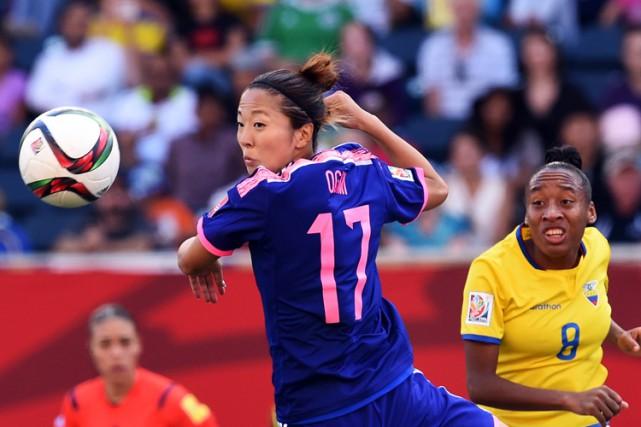 Le Japon a complété la phase de groupes avec une fiche parfaite à la Coupe du... (PHOTO AFP)