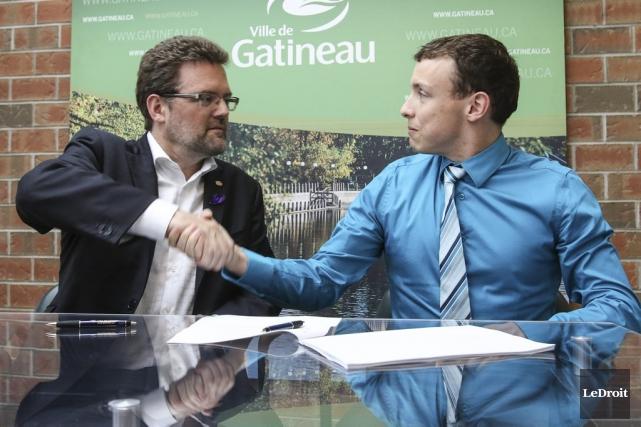 Mardi, la Ville de Gatineau a annoncé la... (Patrick Woodbury, LeDroit)