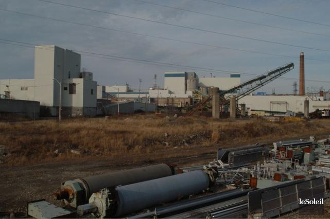 L'anicenne usine Gaspésia de Chandler... (Photothèque Le Soleil)