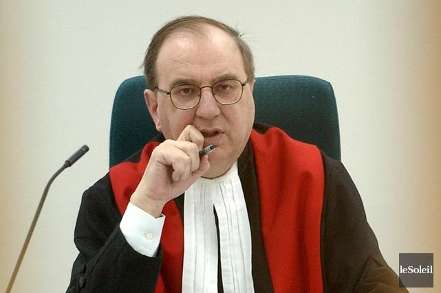 Le juge Yves Alain... (Le Soleil, Patrice Laroche)