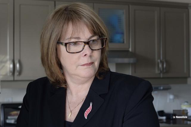 La présidente de la Fondation Katherine Beaulieu, Lise... (Photo: Sylvain Mayer Le Nouvelliste)
