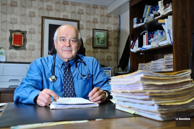 Âgé de 65 ans, le docteur Réjean Ruel... (Photo: Émilie O'Connor Le Nouvelliste)