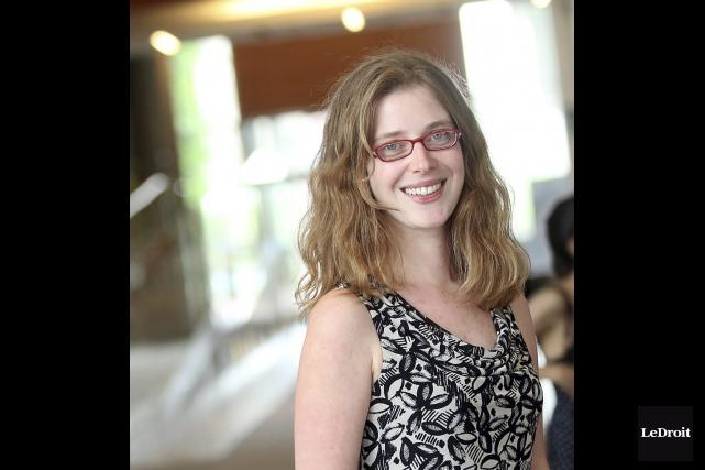 Laura Atran-Fresco, 29 ans, professeure de français à... (Étienne Ranger, LeDroit)