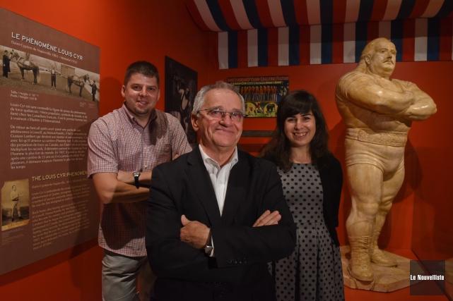 On inaugurait mardi, au Musée québécois de culture... (Photo: François Gervais Le Nouvelliste)