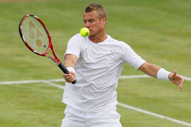 Lleyton Hewitt... (Photo Kirsty Wigglesworth, AP)