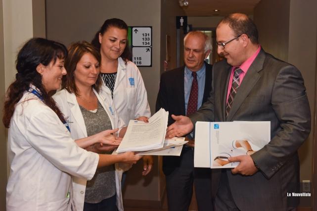 Le président et directeur général du Centre intégré universitaire de santé et... (Photo: François Gervais Le Nouvelliste)