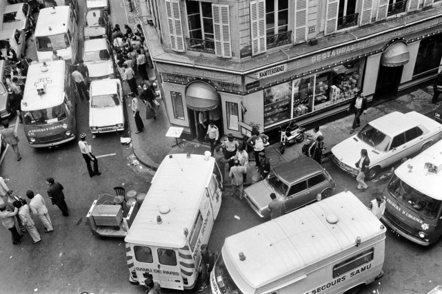 L'attentat de la rue des Rosiers avait fait... (PHOTO JACQUES DEMARTHON, ARCHIVES AFP)