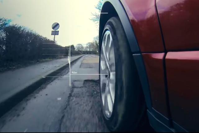 Illusion d'optique Aston Martin (Photo fournie par le constructeur)