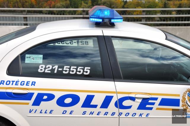 Le Service de police de Sherbrooke fait la vie dure aux trafiquants de... (Archives La Tribune, Jessica Garneau)