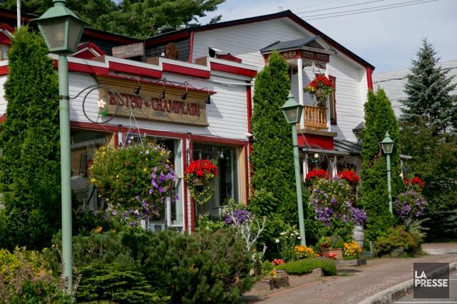 Champlain Charest est heureux. Le nom du bistro... (PHOTO DAVID BOILY, LA PRESSE)