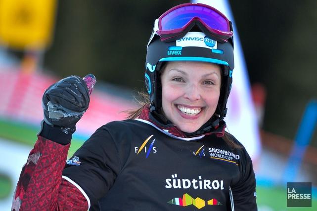 La planchiste Caroline Calvé a remportésept médailles sur... (Photo Andreas Solaro, archives AFP)