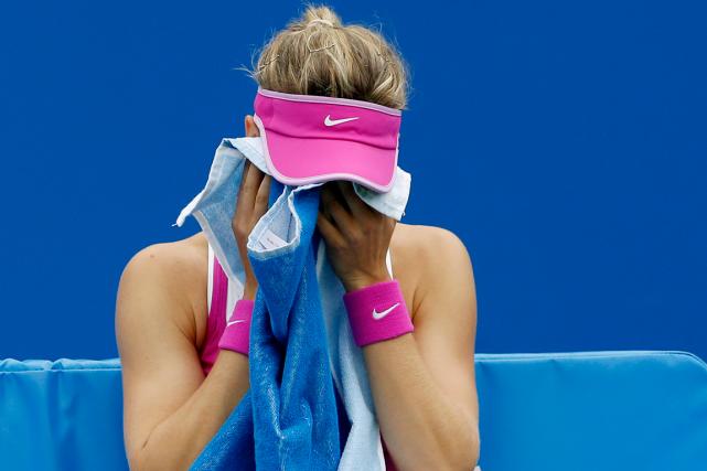 Eugenie Boucharda encaissé une neuvième défaite à ses... (Photo Andrew Boyers, Reuters)