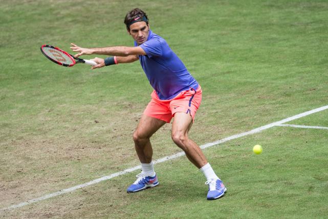 Roger Federer... (Photo Maja Hitij, AFP)