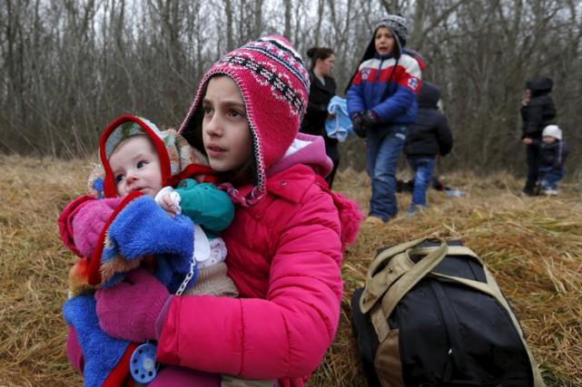 Le nombre de réfugiés entrant en Hongrie a... (Photo: Reuters)