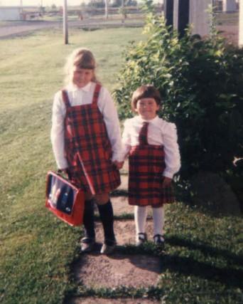 Marie-Claude Masse et sa soeur, que leur mère...