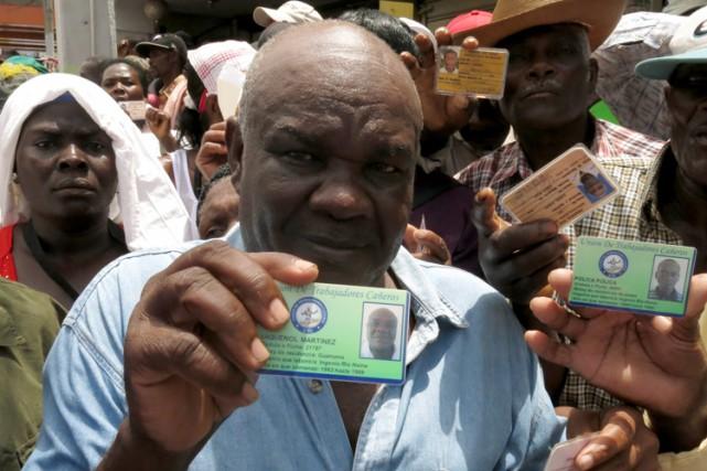 «Environ 200 000 Haïtiens vont se retrouver dehors»,... (PHOTO AP)