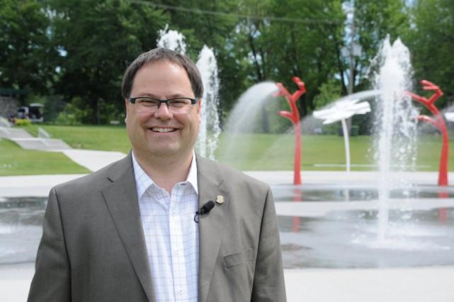 Drummondville a fait visiter son nouveau parc Woodyatt... (Photo collaboration spéciale Éric Beaupré)