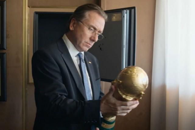 Dans le film, Tim Roth interprète Joseph Blatter,... (LEUVIAH FILMS \ THELMA FILMS)