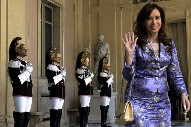 Cristina Kirchner... (PHOTO AFP)
