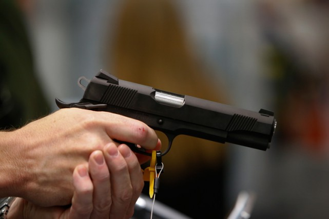 Contrairement à ce qu'affirme le lobby des armes, une arme personnelle est... (PHOTO BLOOMBERG)