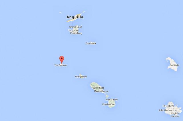 Les policiers et les procureurs de Saba, une... (Photo Google Maps)
