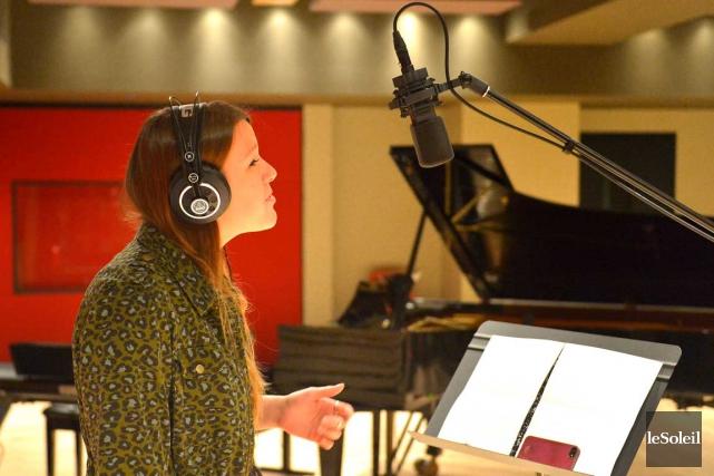 La chanteuse Gabrielle Shonk fera une incursion dans... (Photothèque Le Soleil, Yan Doublet)