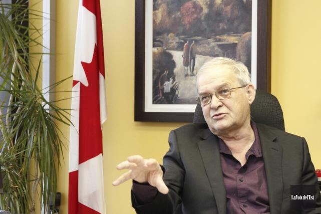 Réjean Genest avait été élu en 2011, profitant... (Photo Julie Catudal, archives la voix de l'Est)