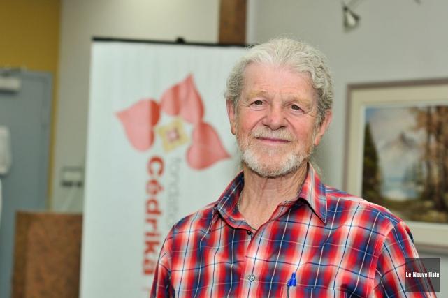 Président de la Fondation Cédrika Provencher, Henri Provencher... (Photo: Émilie O'Connor, Le Nouvelliste)