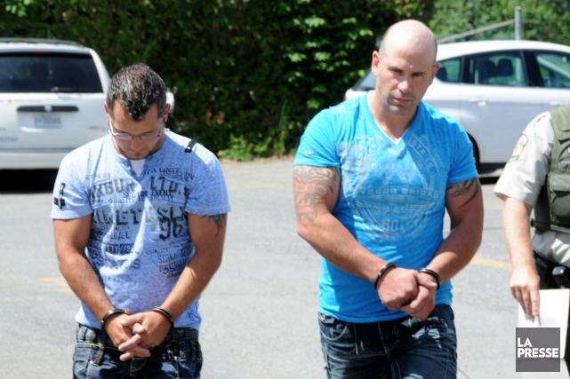 Martin Labbé et Steve Lamoureux sont accusés de...