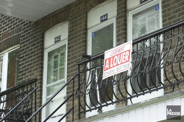 Le taux d'inoccupation, soit la part des logements... (PHOTO ALAIN ROBERGE, ARCHIVES LA PRESSE)