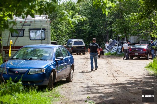 Des véhicules volés et des pièces d'auto ont... (Photo: Olivier Croteau, Le Nouvelliste)