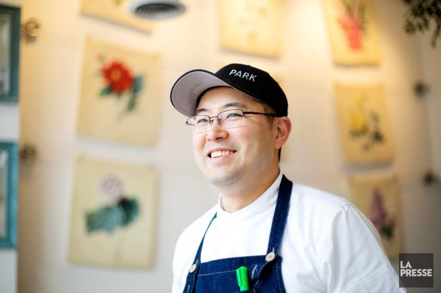Le chef Antonio Park, qui a grandi en... (PHOTO OLIVIER JEAN, LA PRESSE)