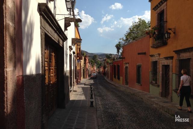 Une balade dans les rues de San Miguel... (PHOTO JEAN GAGNON, COLLABORATION SPÉCIALE)