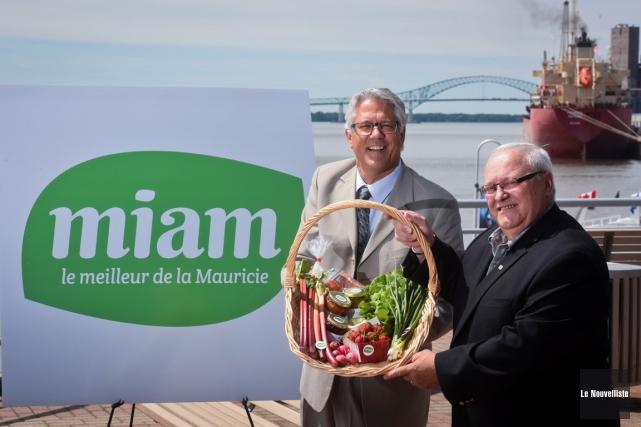 Norman Houle, directeur régional du ministère de l'Agriculture,... (Photo: François Gervais, Le Nouvelliste)