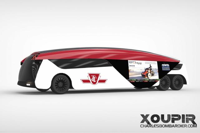 Le design du véhicule électrique doit-il exprimer son mode de propulsion?... (ILLUSTRATION FOURNIE PAR CHARLES BAILLARGEON)