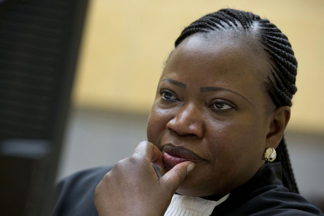 La procureure de la CPI Fatou Bensouda a... (PHOTO PETER DE JONG, ARCHIVES AP)