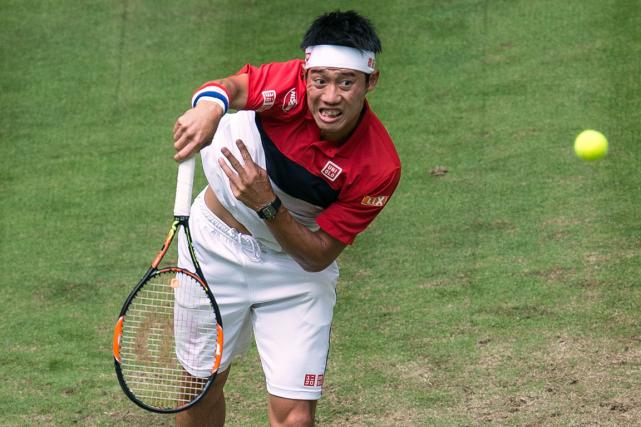 Kei Nishikori... (Photo Maja Hitij, AFP)