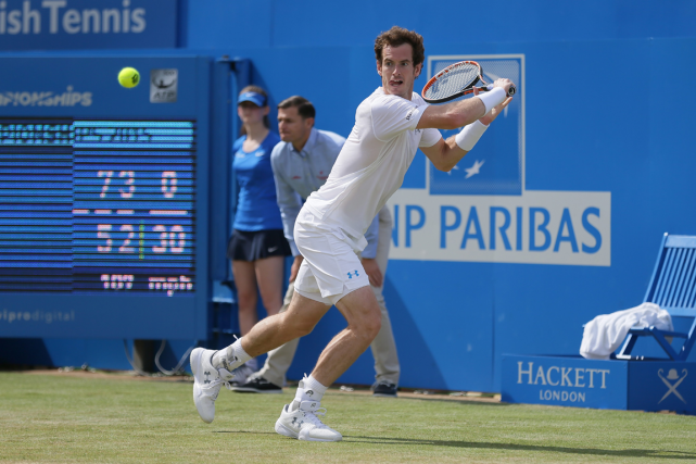 Andy Murray... (Photo Tim Ireland, AP)