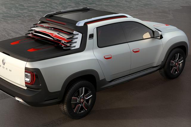 renault lance sa premi re camionnette actualit s. Black Bedroom Furniture Sets. Home Design Ideas