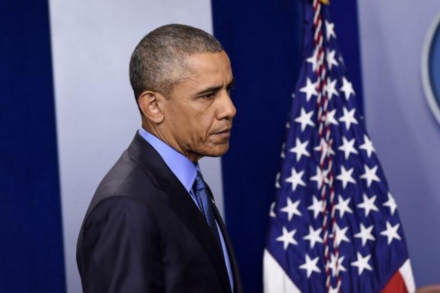 Pour Barack Obama, l'obtention de cette procédure accélérée... (Photo Susan Walsh, AP)