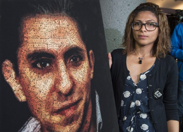 Ensaf Haidar, la femme de Raif Badawi....