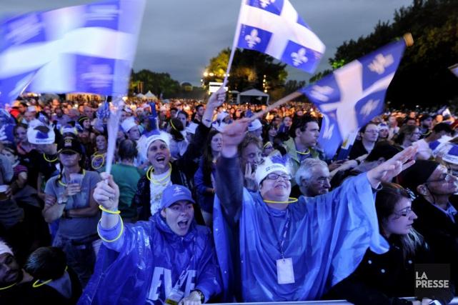 Nous constatons que la Fête nationale du Québec... (PHOTO BERNARD BRAULT, ARCHIVES LA PRESSE)